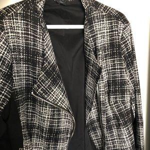 DKNY b&w jacket/blazer! XL *NEW*